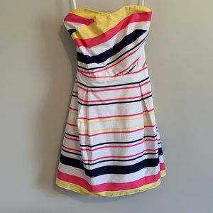 NWOT Strapless striped Lilly Pulitzer dress